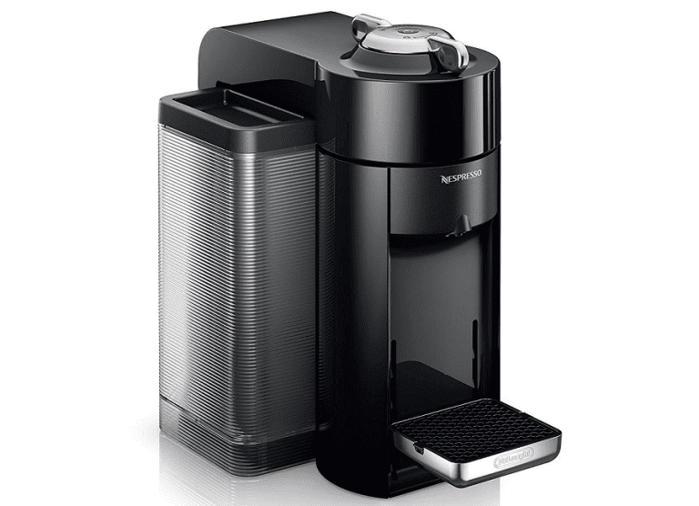 Upclose image of the Nespresso Evoluo coffee maker