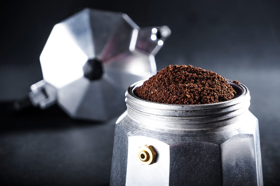 Plastic-free coffee makers